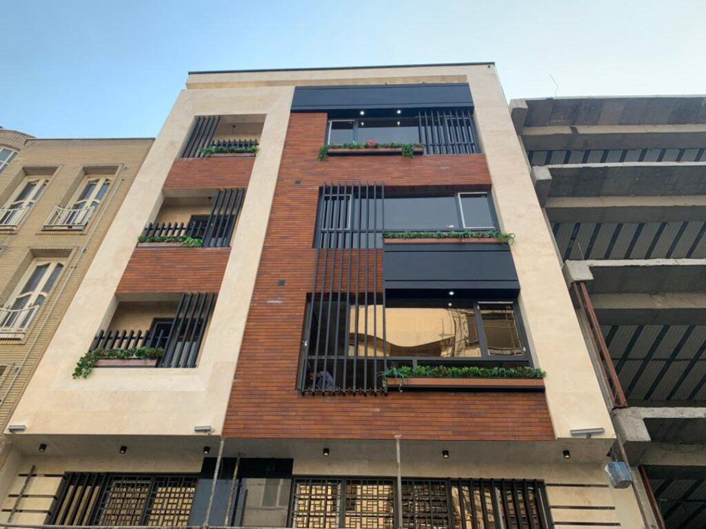 ساخت ساختمان های مسکونی